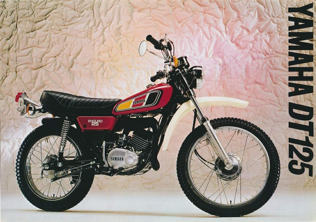Yamaha DT 125 E 1978 wallpapers #135617
