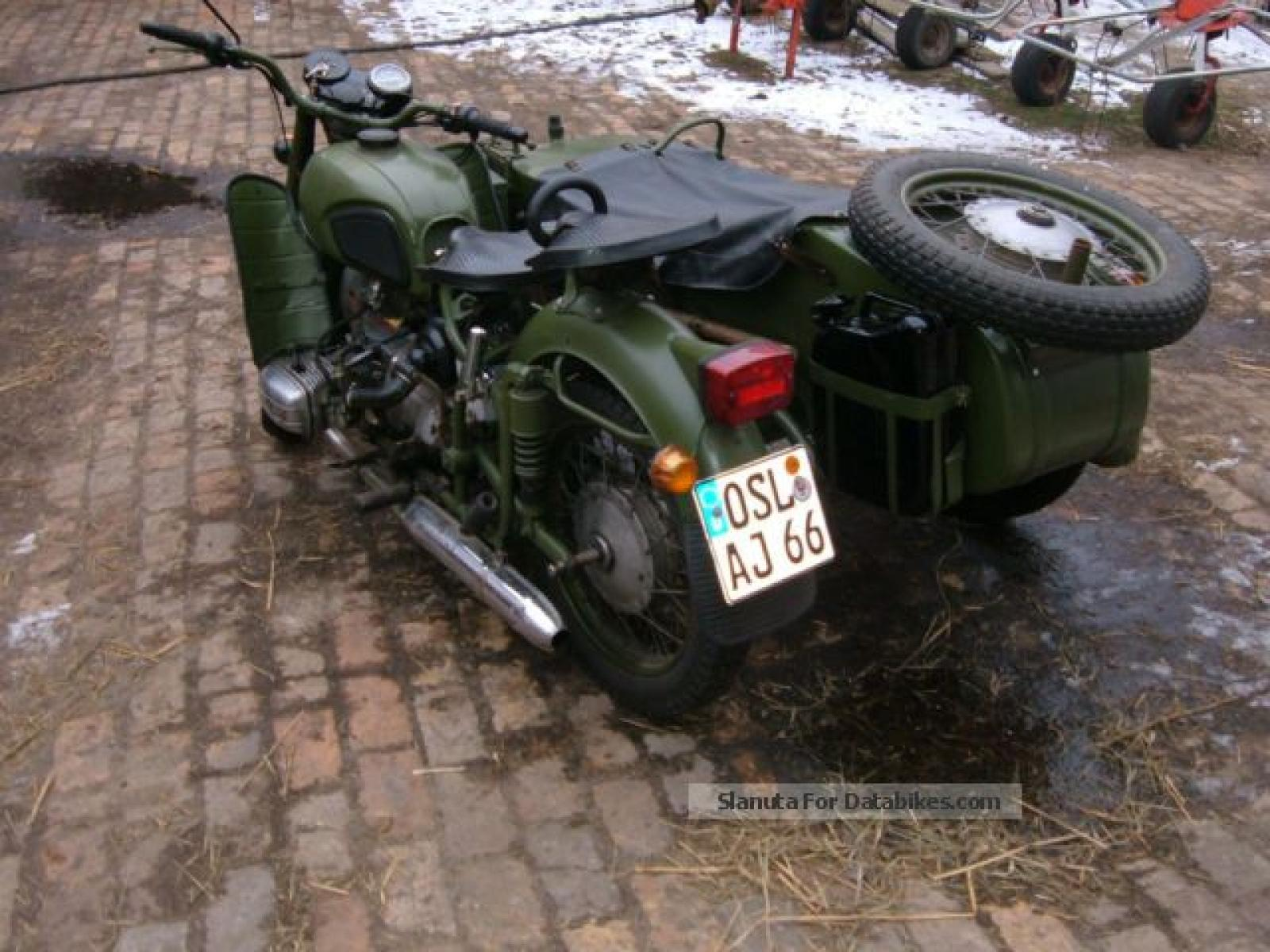 Dnepr MT 12 with sidecar images #72098