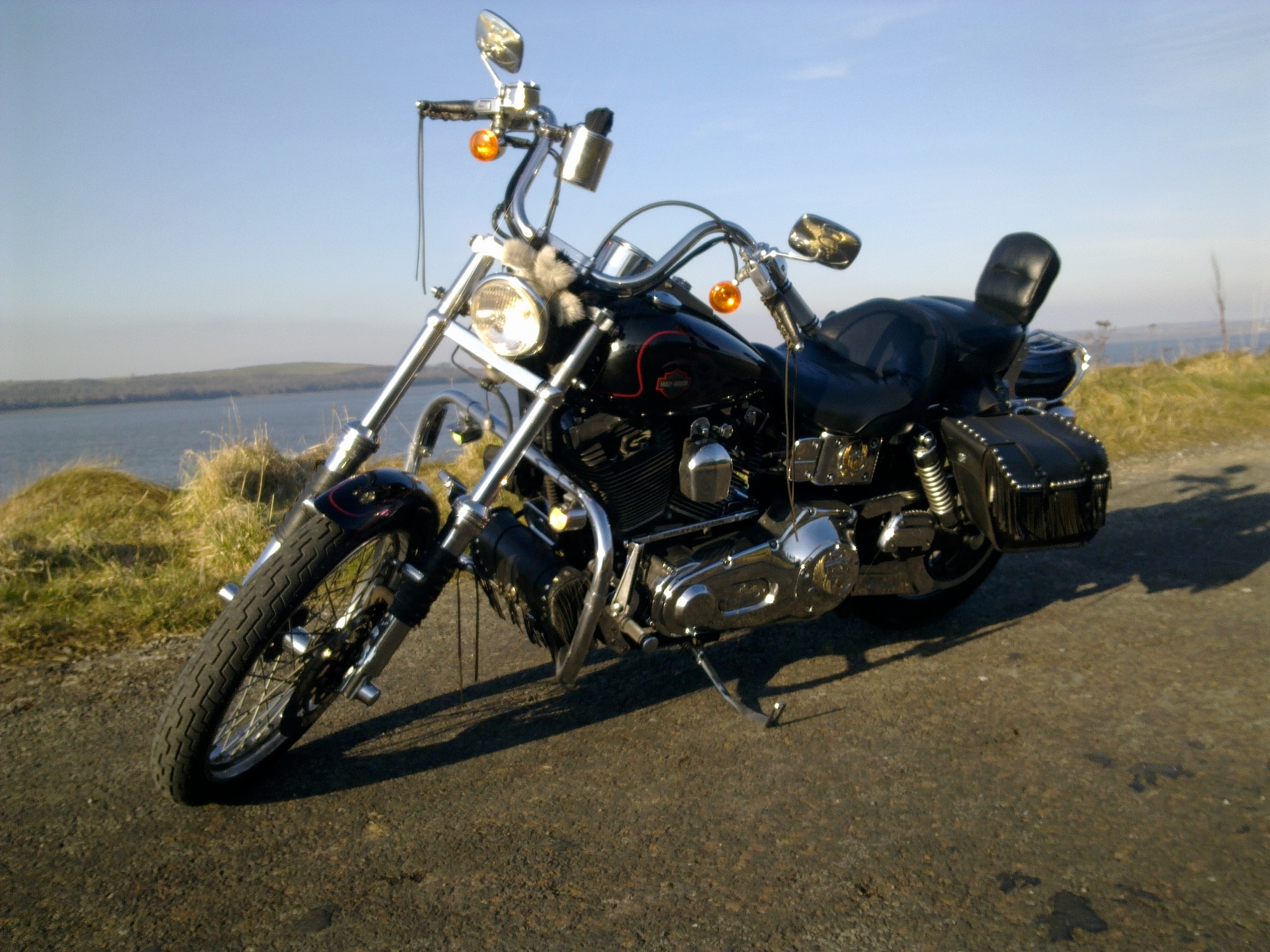Harley-Davidson FXDS Dyna Glide Convertible 1998 wallpapers #133538