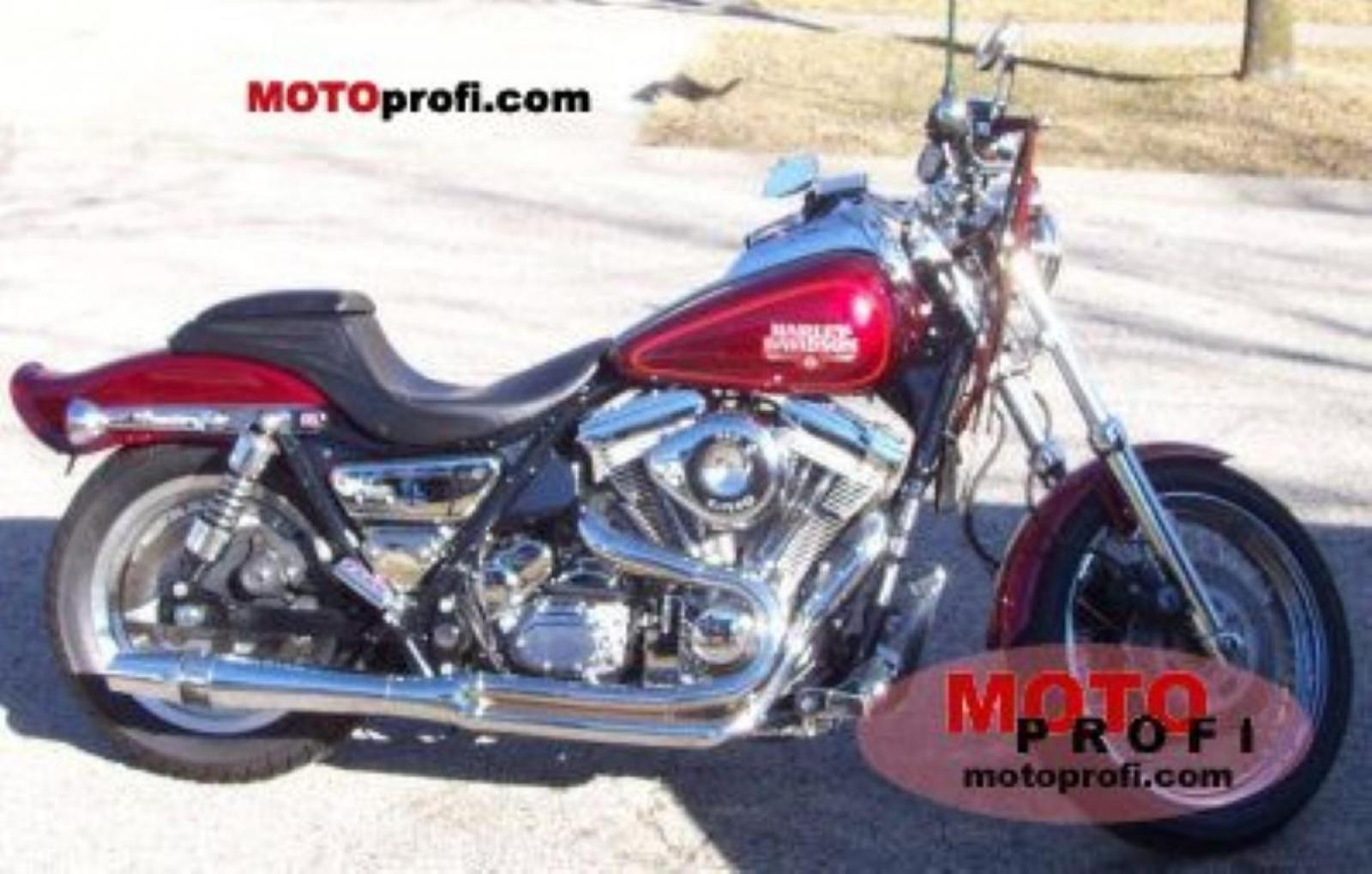1990 Harley-Davidson FXRS 1340 Low Rider: pics, specs and