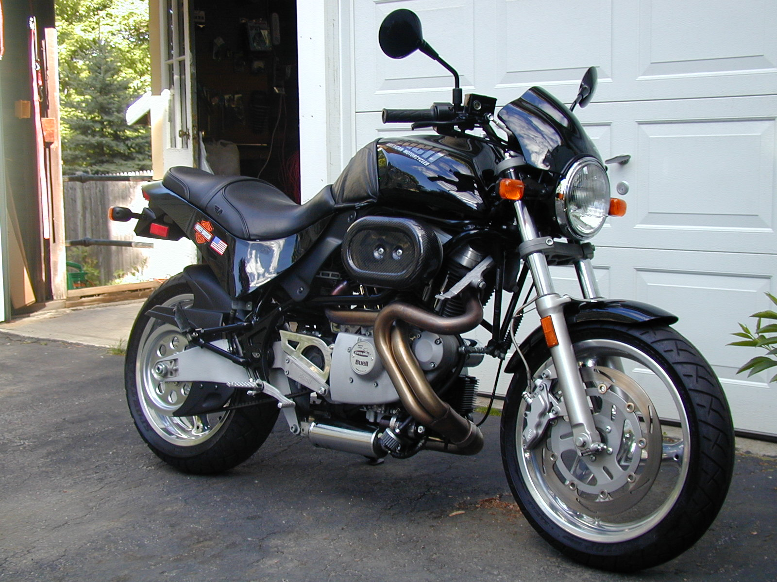 Buell M2 Cyclone 1999 images #153271