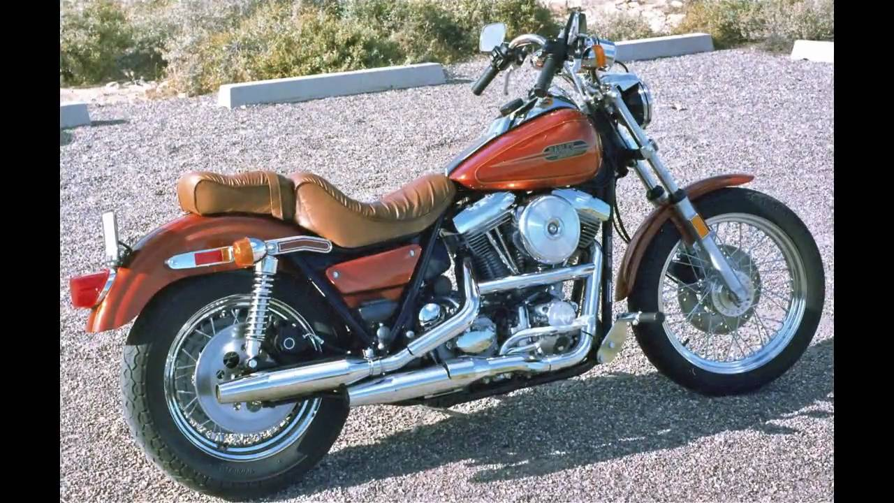 Harley-Davidson FXRS-SP Low Rider Sport 1988 pics #29099