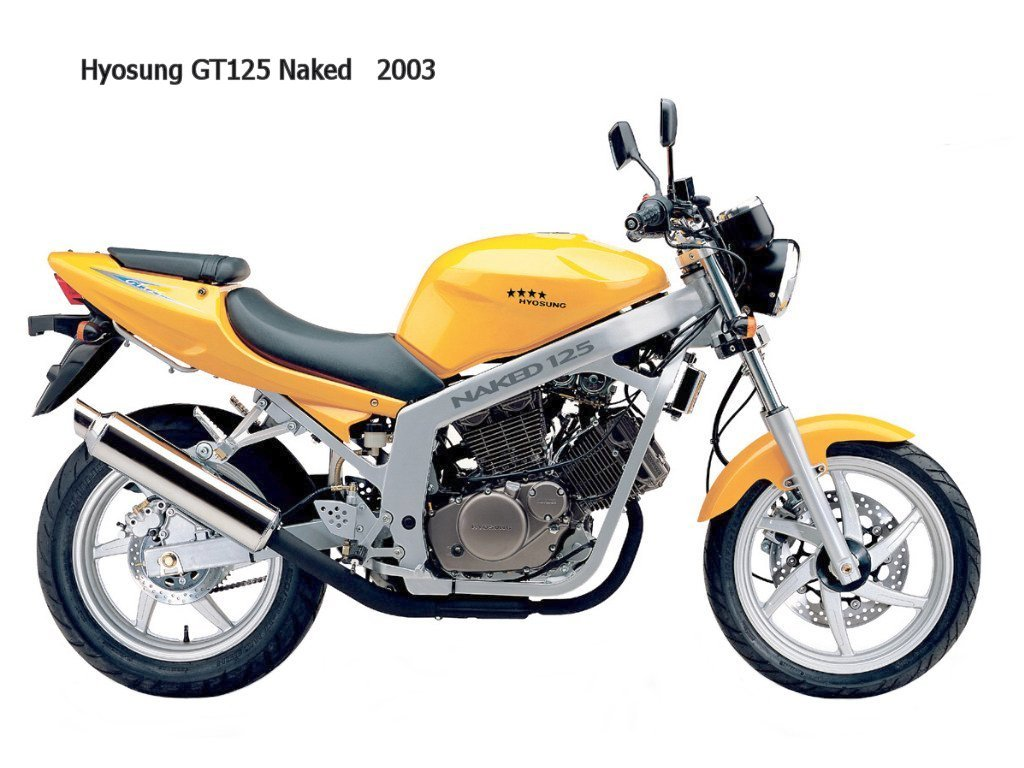 Hyosung Comet GT125 2002 wallpapers #143458