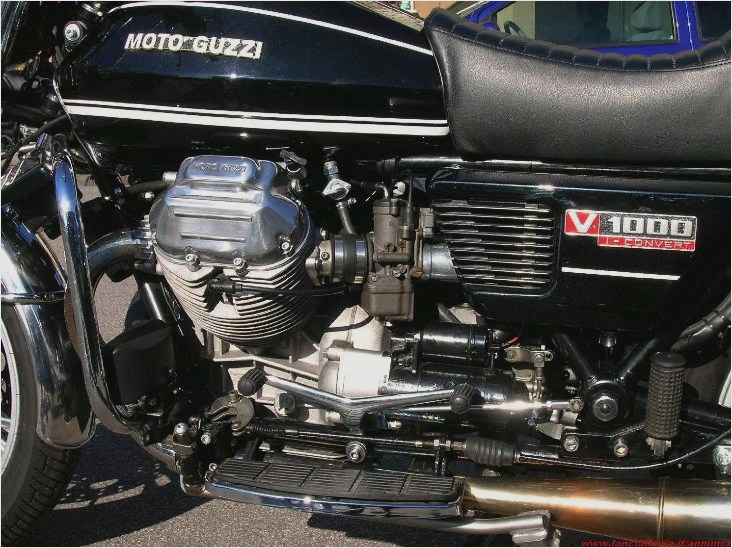 Moto Guzzi V 1000 I-Convert 1978 wallpapers #139886