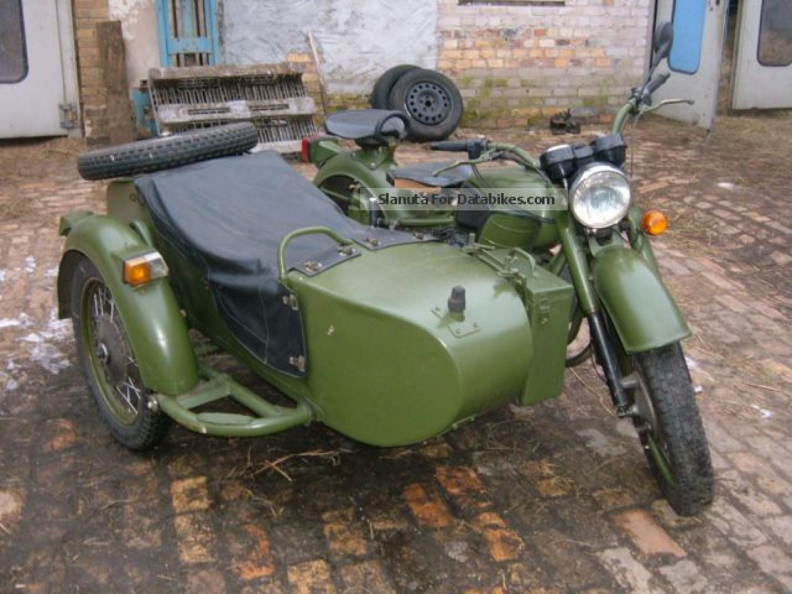 Dnepr MT 12 with sidecar images #72100