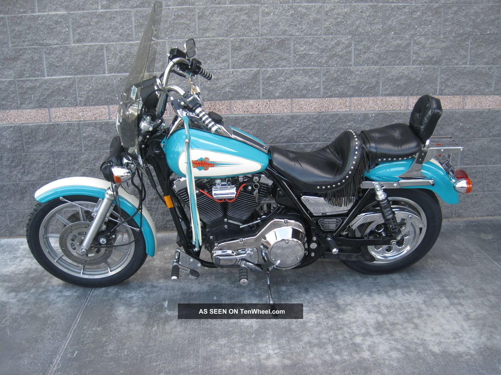 Harley-Davidson FXRS-SP Low Rider Sport 1988 pics #29100