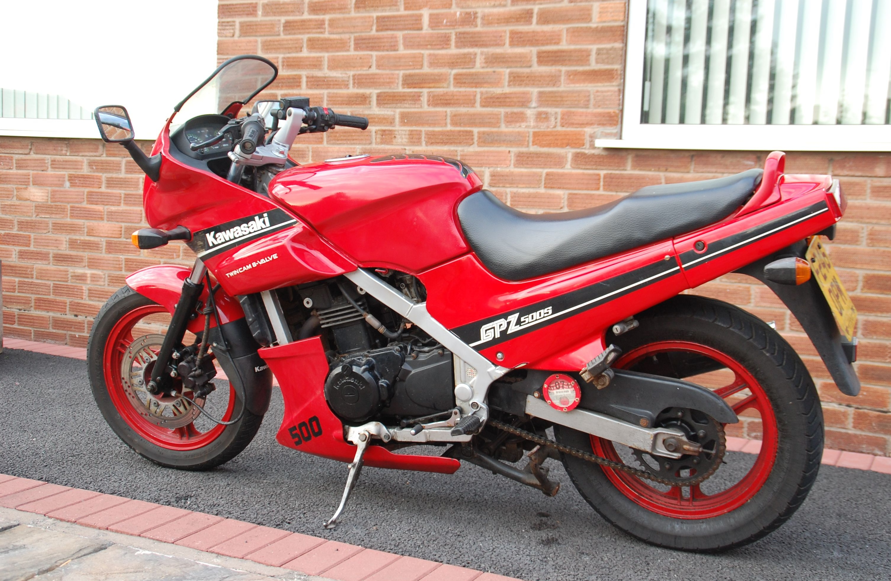 Kawasaki GPZ 500 S (reduced effect) 1993 pics #31871