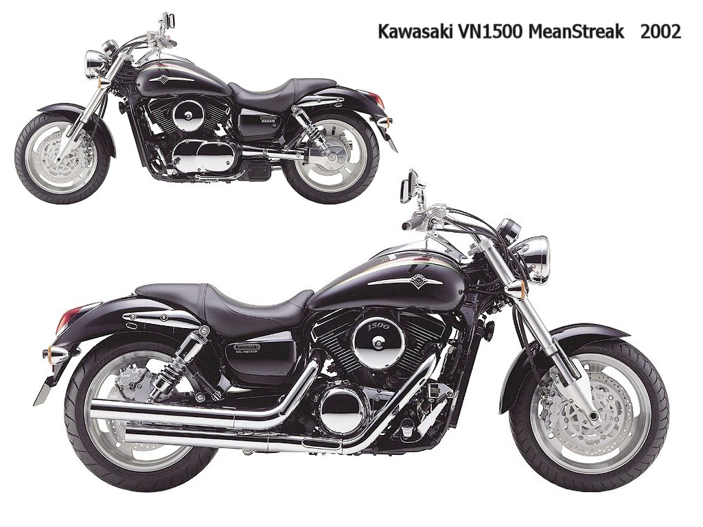 Kawasaki VN 1500 Mean Streak 2003 wallpapers #134827
