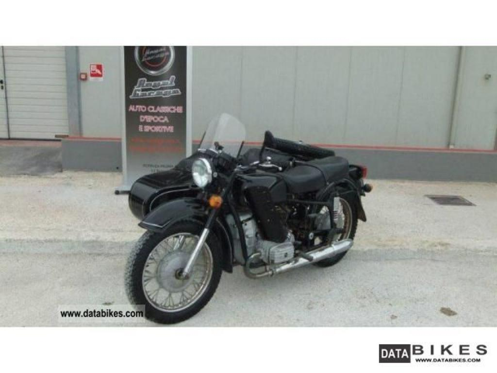 Dnepr MT 12 with sidecar 1985 images #72101