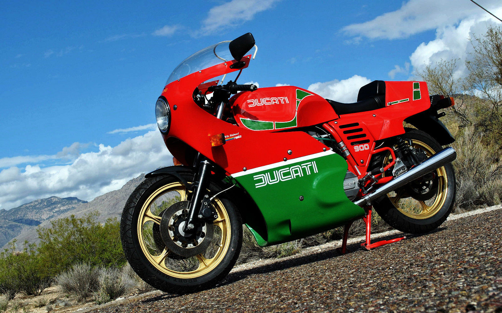 Ducati 900 SS 1983 wallpapers #10535