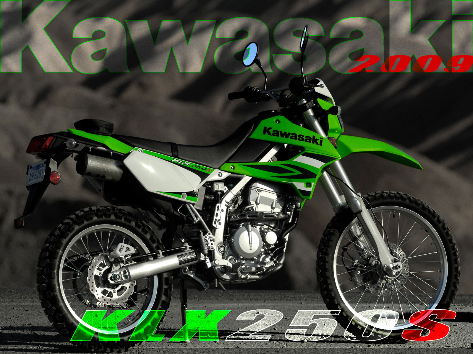 Kawasaki KLX 250 S 2007 wallpapers #142463