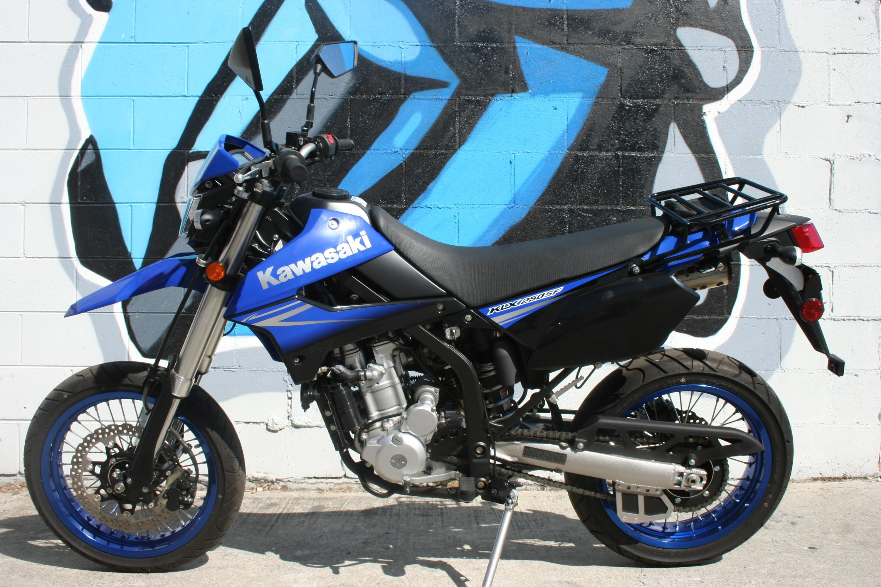 kawasaki klx 250sf pics specs and list of seriess by year. Black Bedroom Furniture Sets. Home Design Ideas