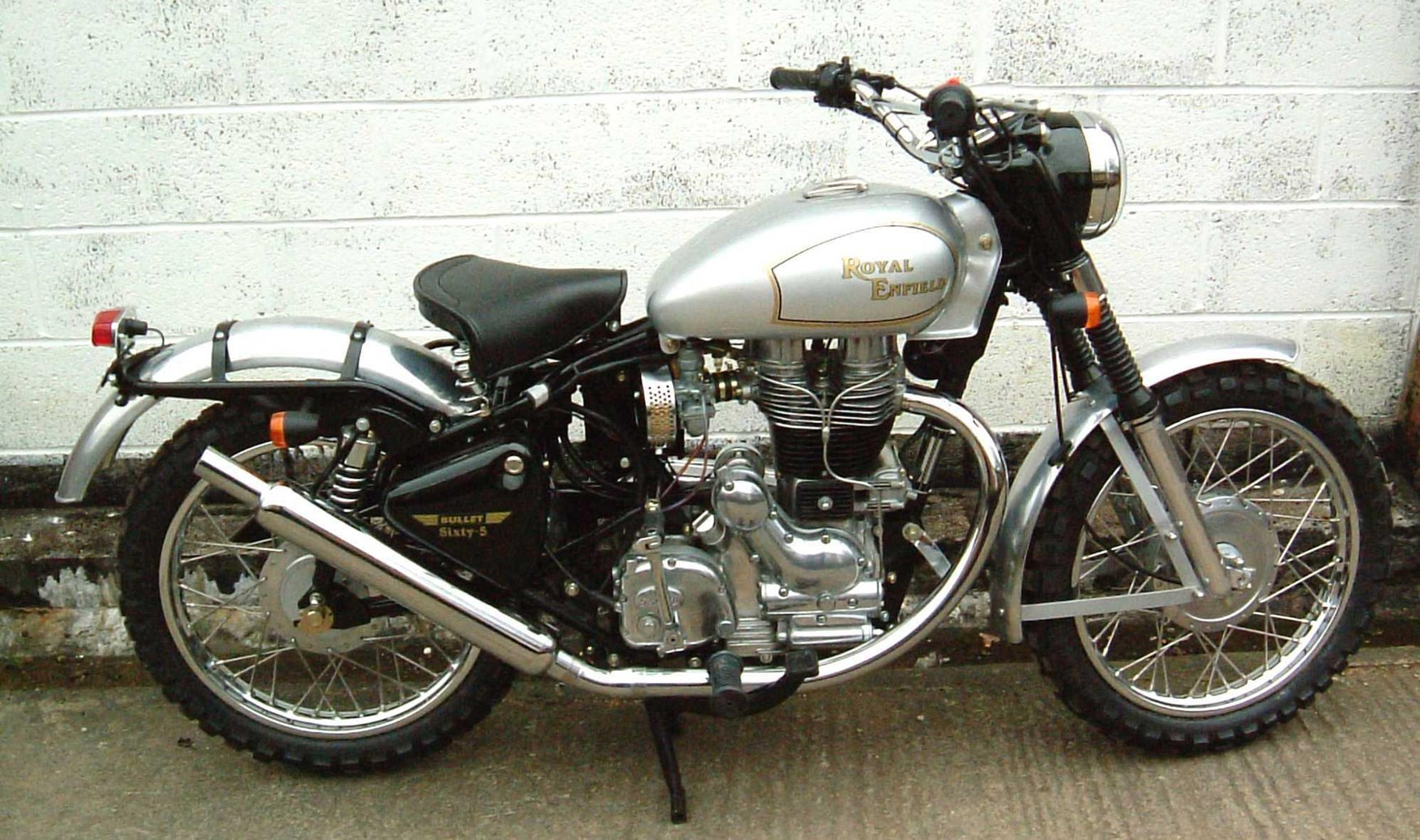 Royal Enfield Bullet 500 Trial Trail 2006 wallpapers #141669