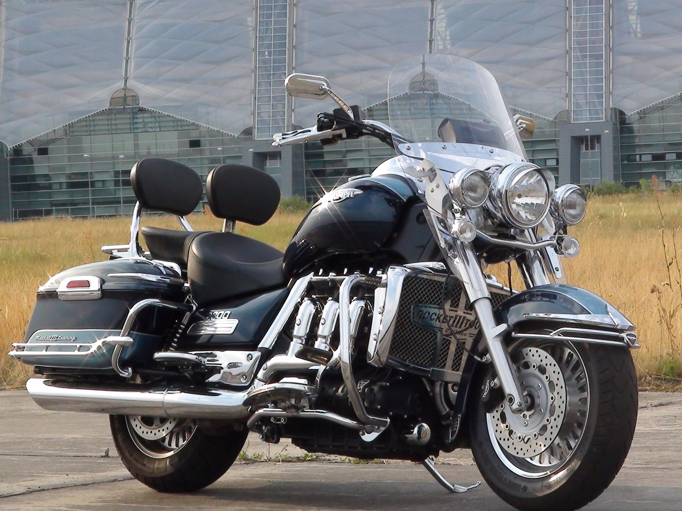 Triumph Rocket III Touring 2011 wallpapers #130764