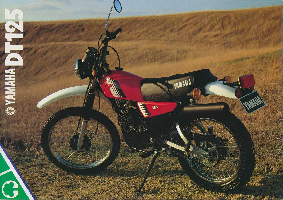 Yamaha DT 125 E 1978 wallpapers #135621