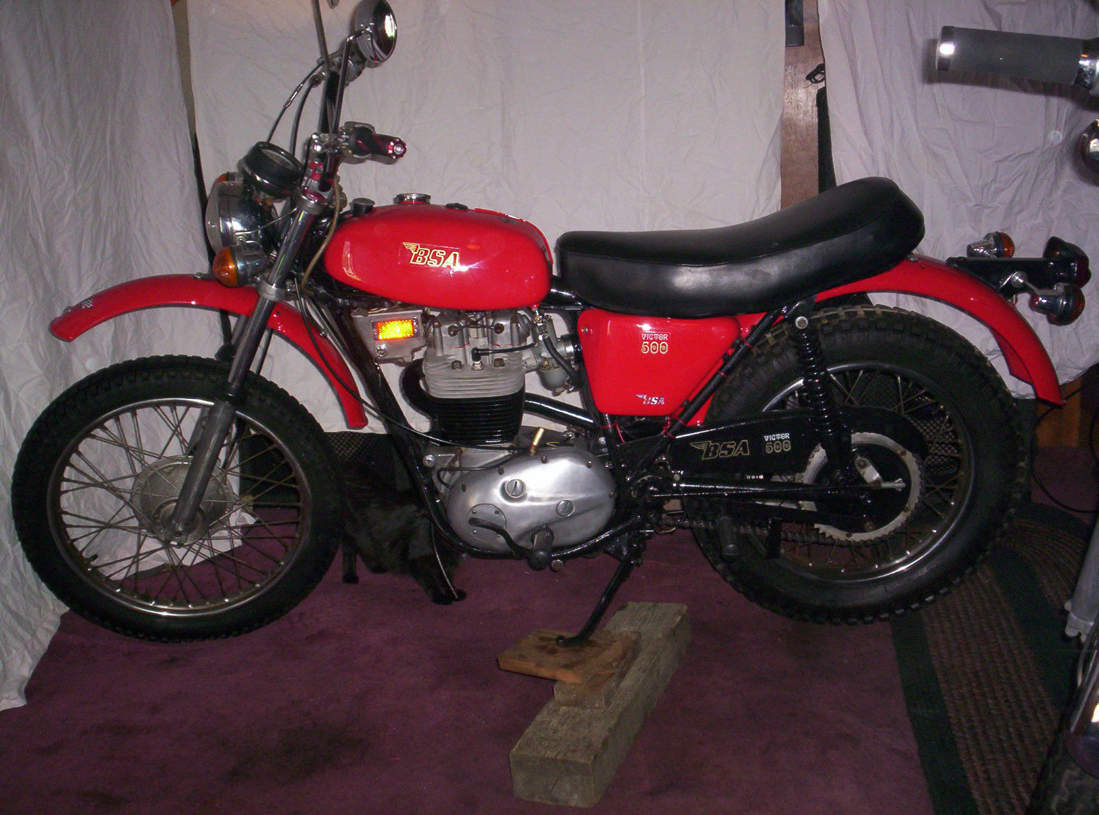 BSA Victor 500-Trail (B-50T) 1971 images #65690