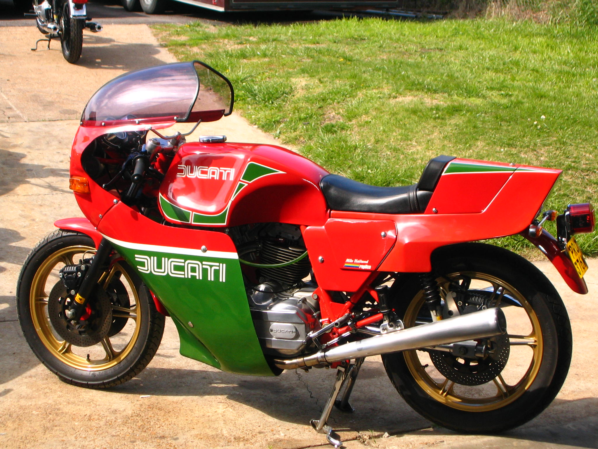 Ducati 900 SS 1983 wallpapers #10536
