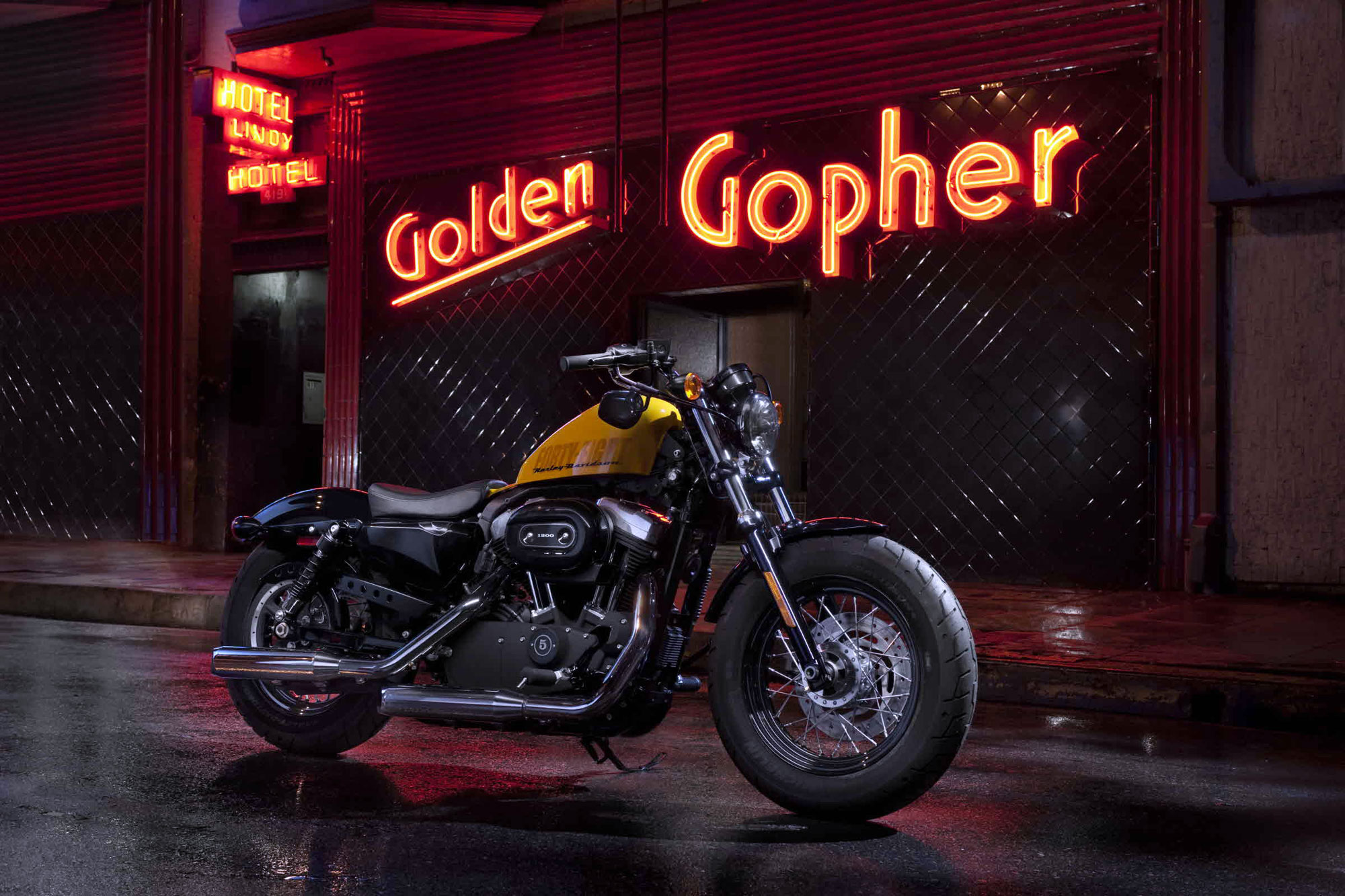 Harley-Davidson XL1200X Forty-Eight pics #19078