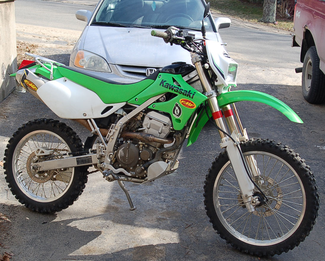 Kawasaki KLX 250 S 2007 wallpapers #142464