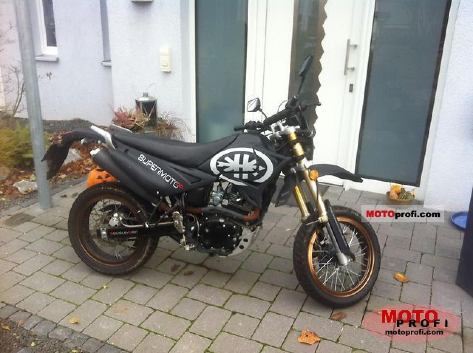 Kreidler Supermotard 125 DD Reduced Effect 2008 images #100861