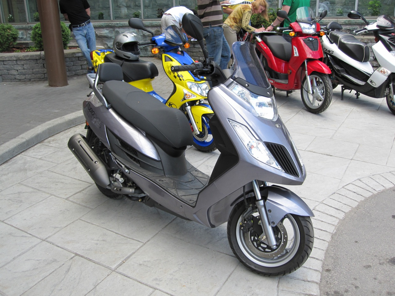 Kymco Yager 200 2010 images #102046