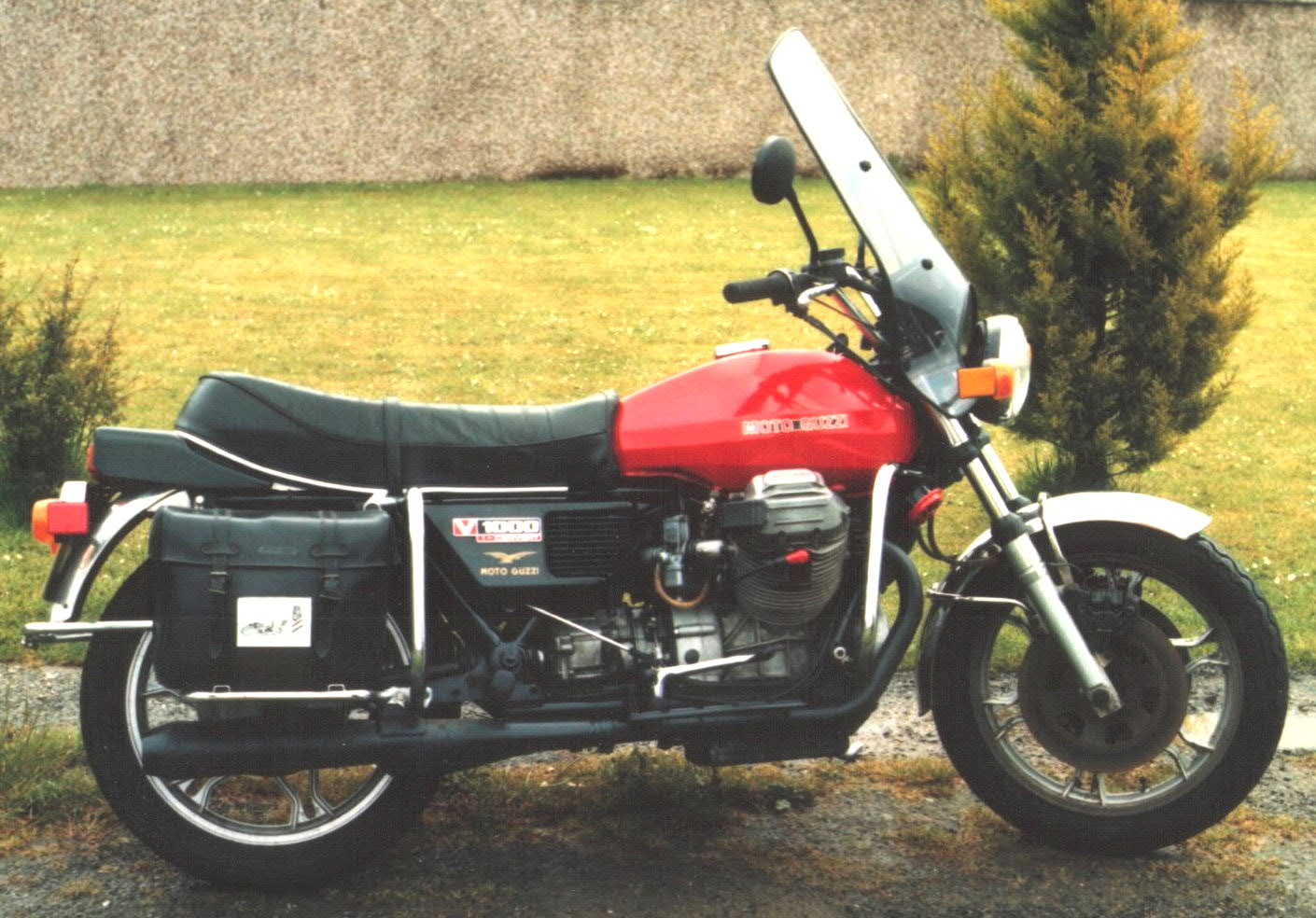 Moto Guzzi V 1000 I-Convert 1978 wallpapers #139889