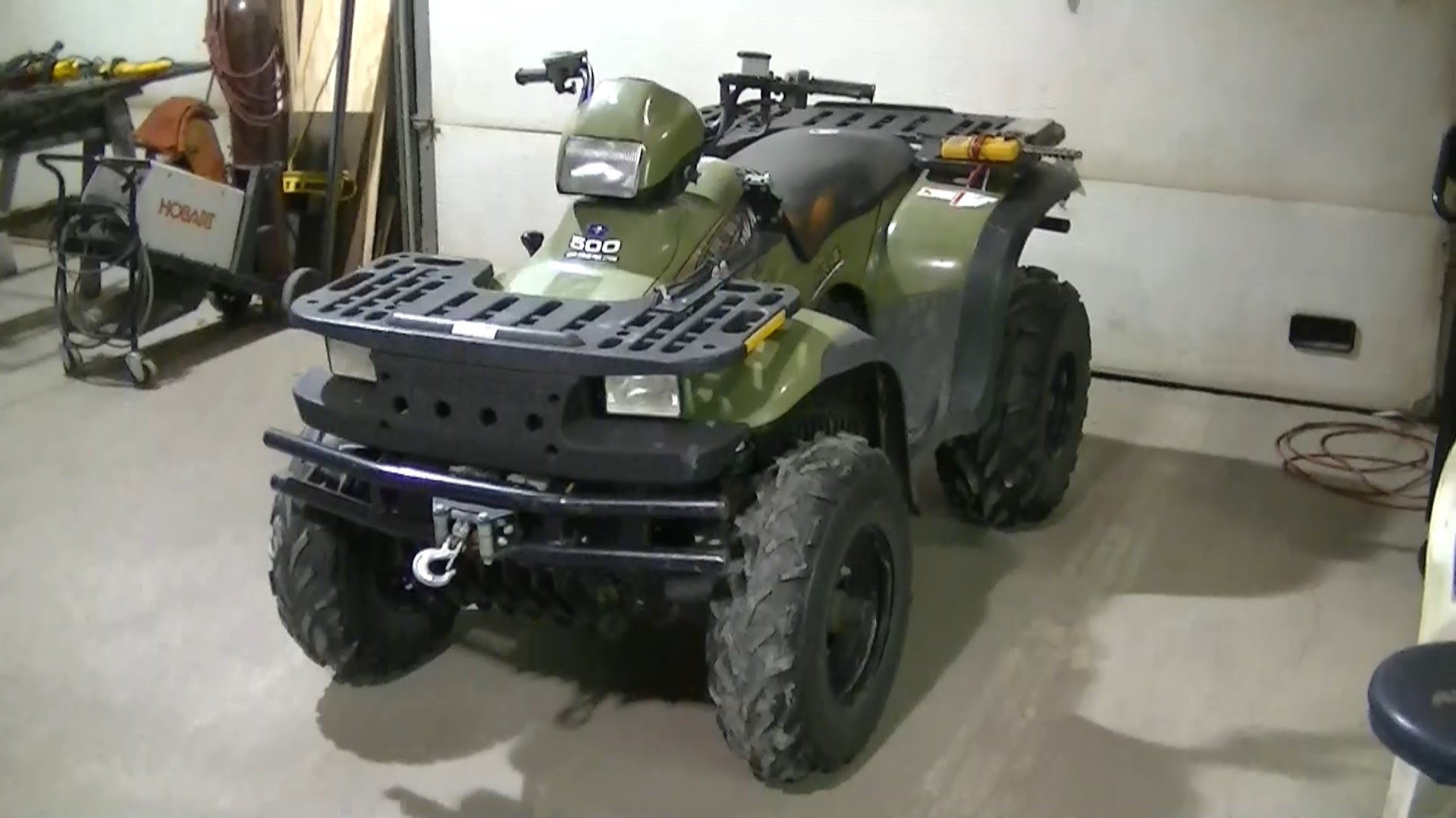Polaris Sportsman 500 6x6 2002 images #120886