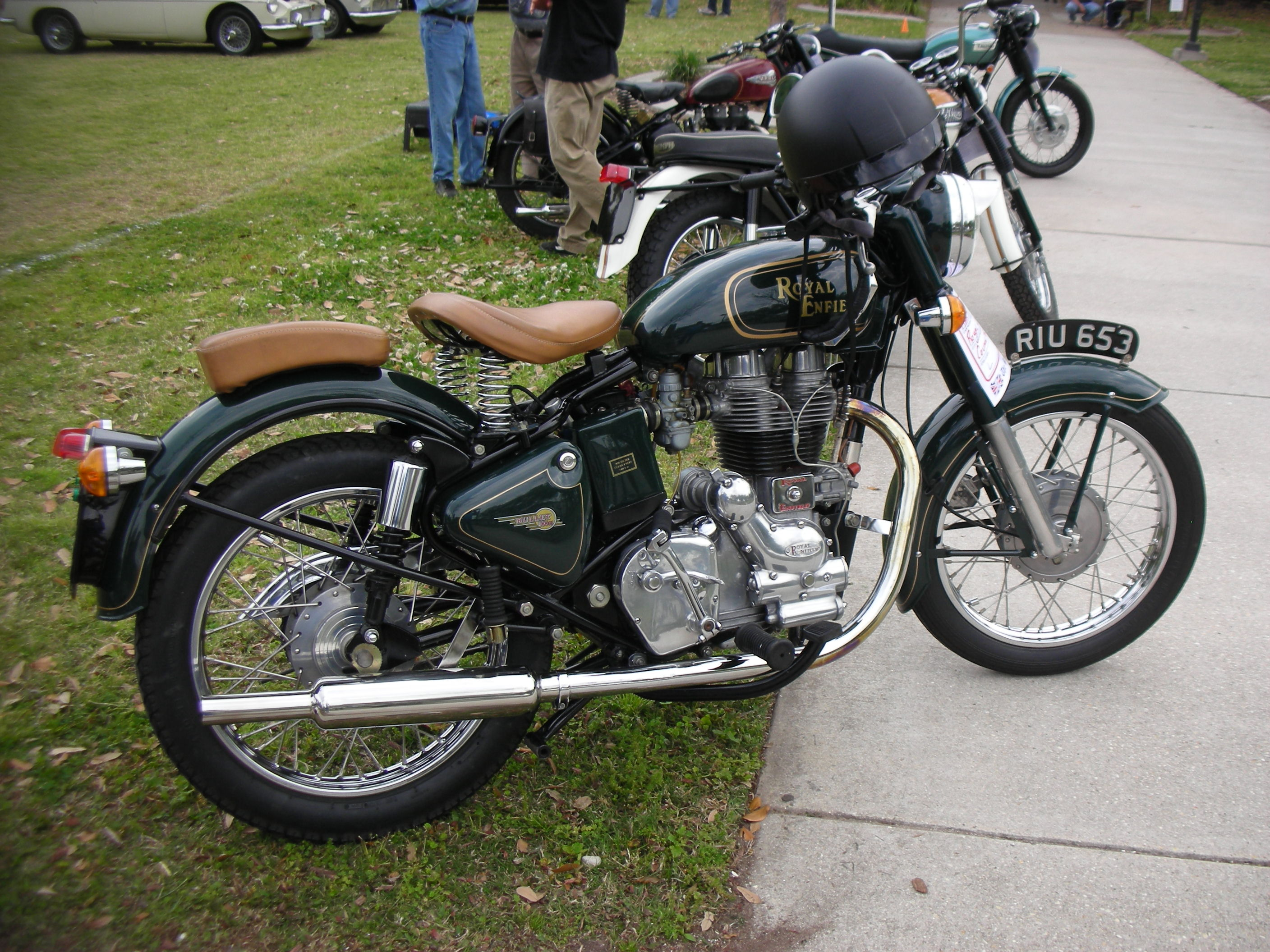 Royal Enfield Bullet 500 S Clubman 2003 images #123058