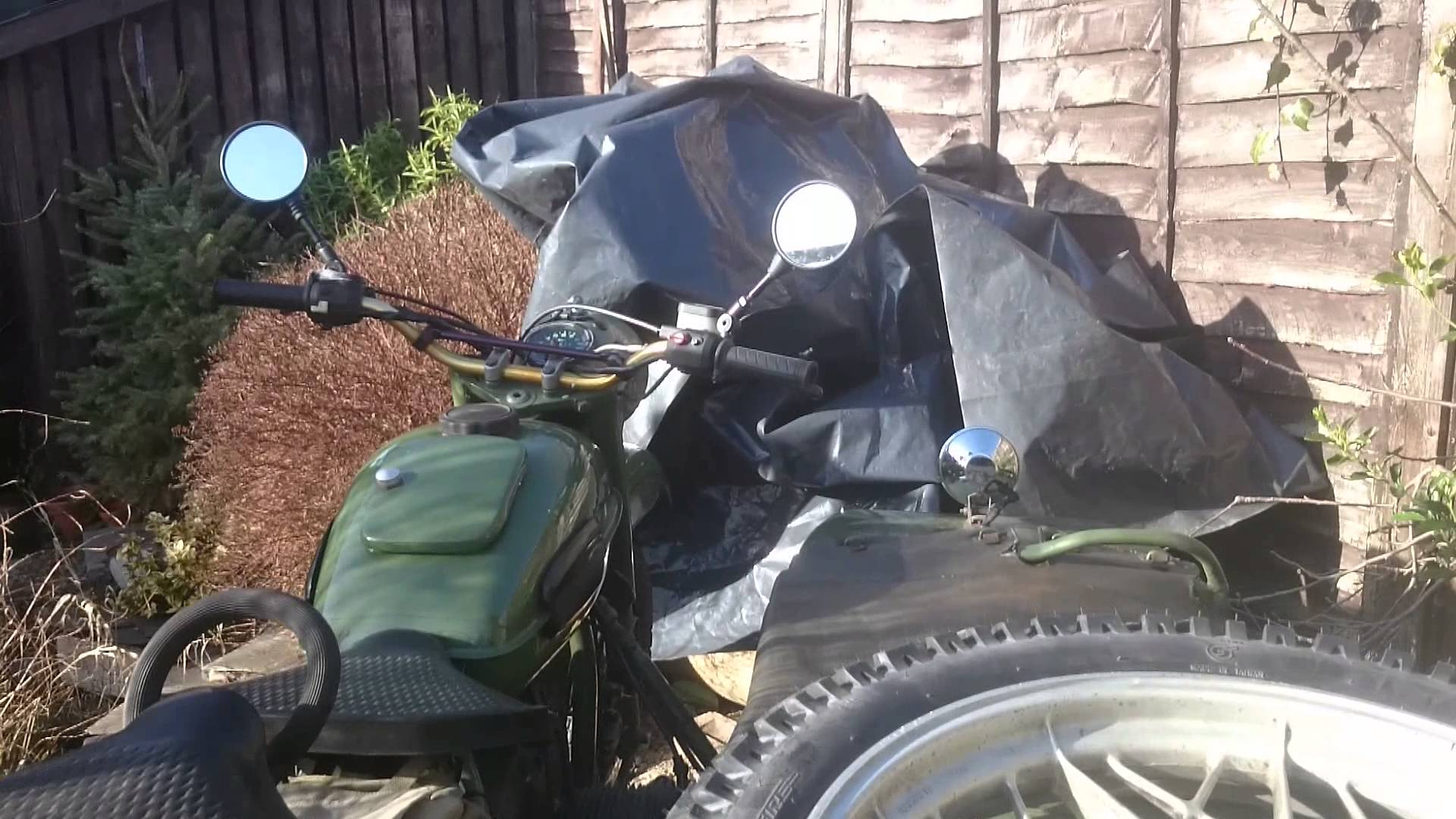 Ural M-63 with sidecar 1972 images #127114