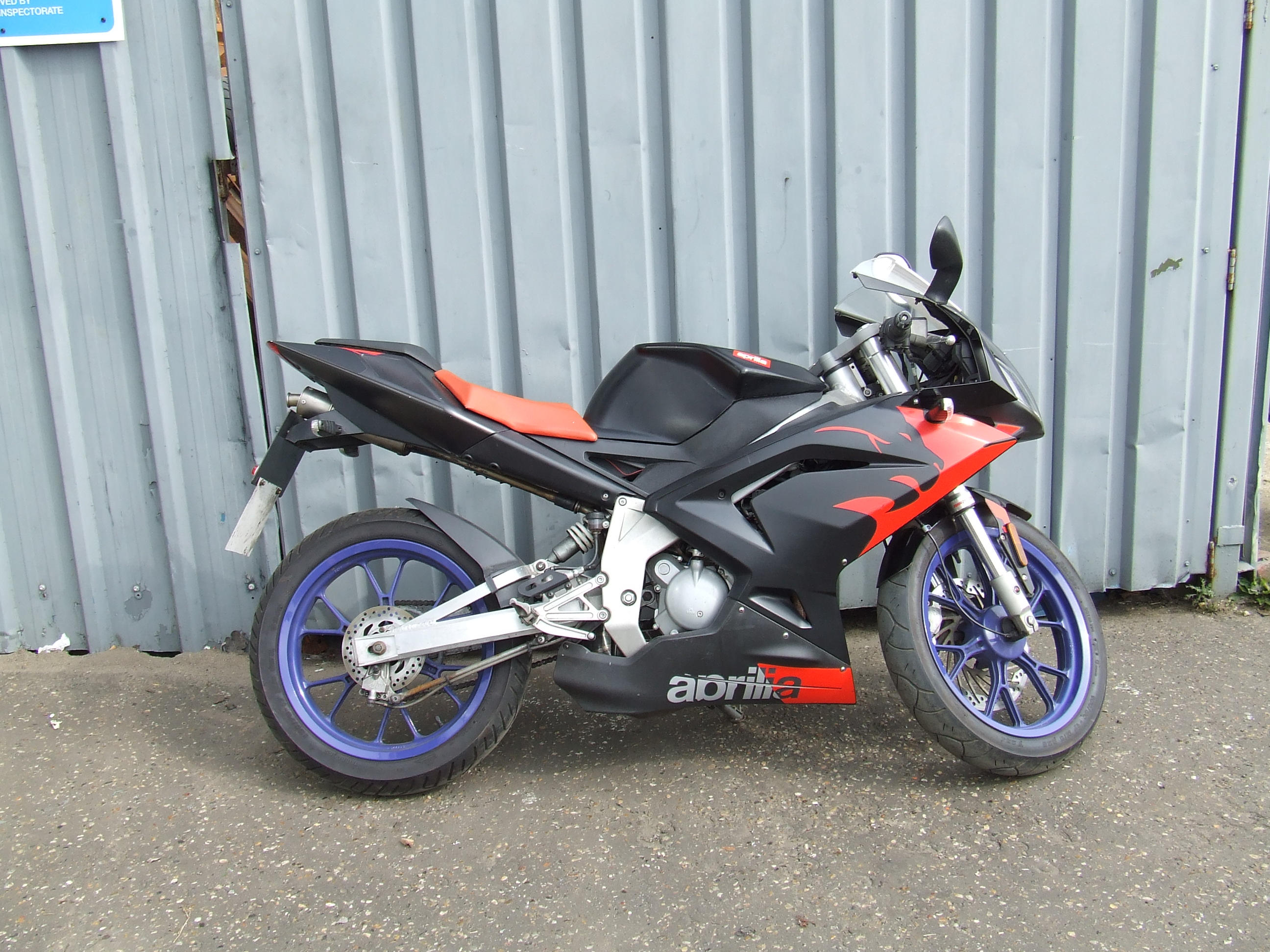 2007 aprilia rs 50 pics specs and information. Black Bedroom Furniture Sets. Home Design Ideas