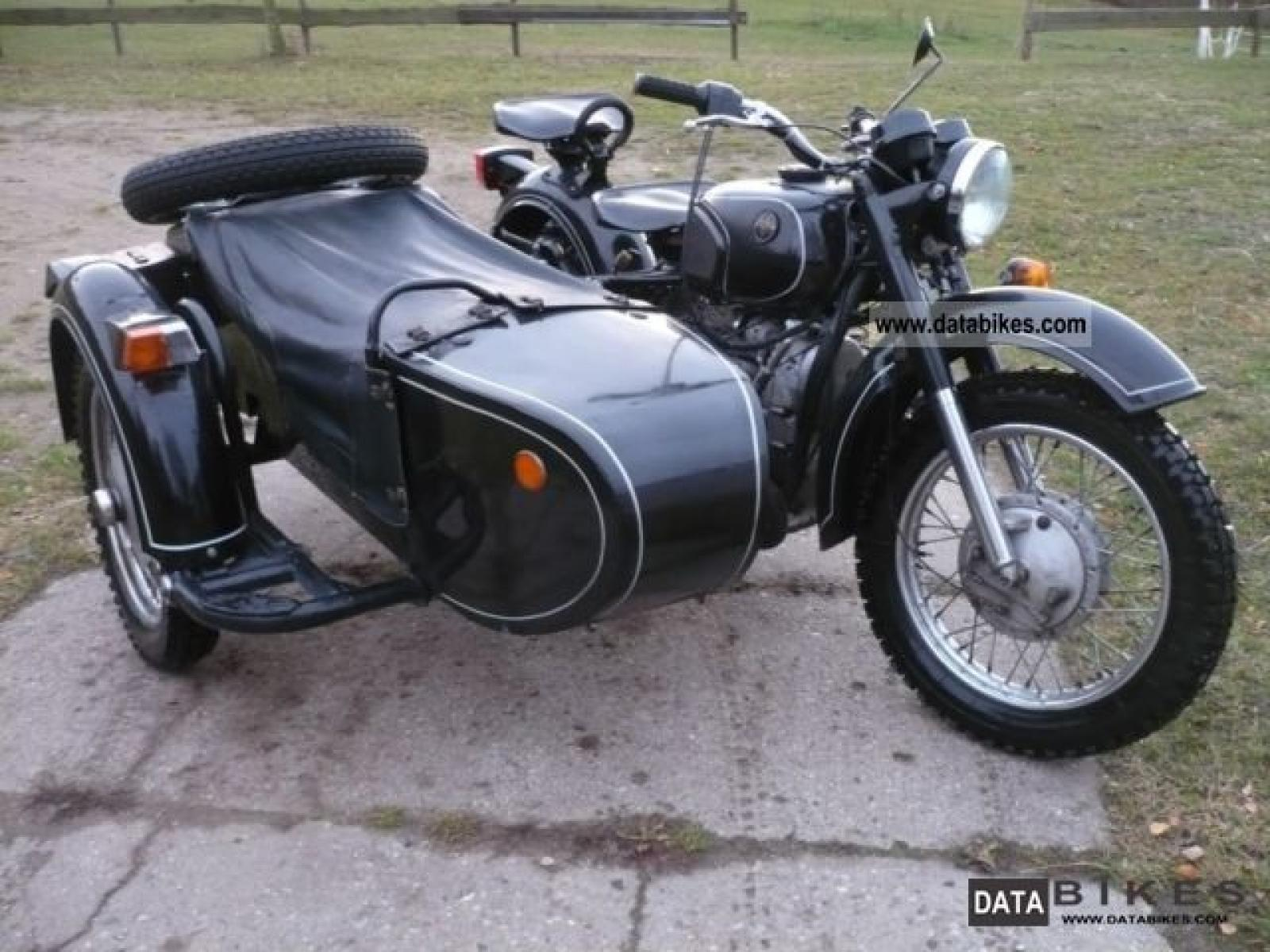 Dnepr MT 11 with sidecar 1987 images #95603