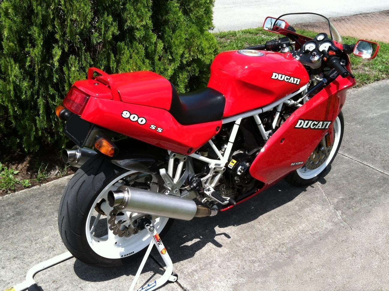 Ducati 900 SS 1994 images #78841