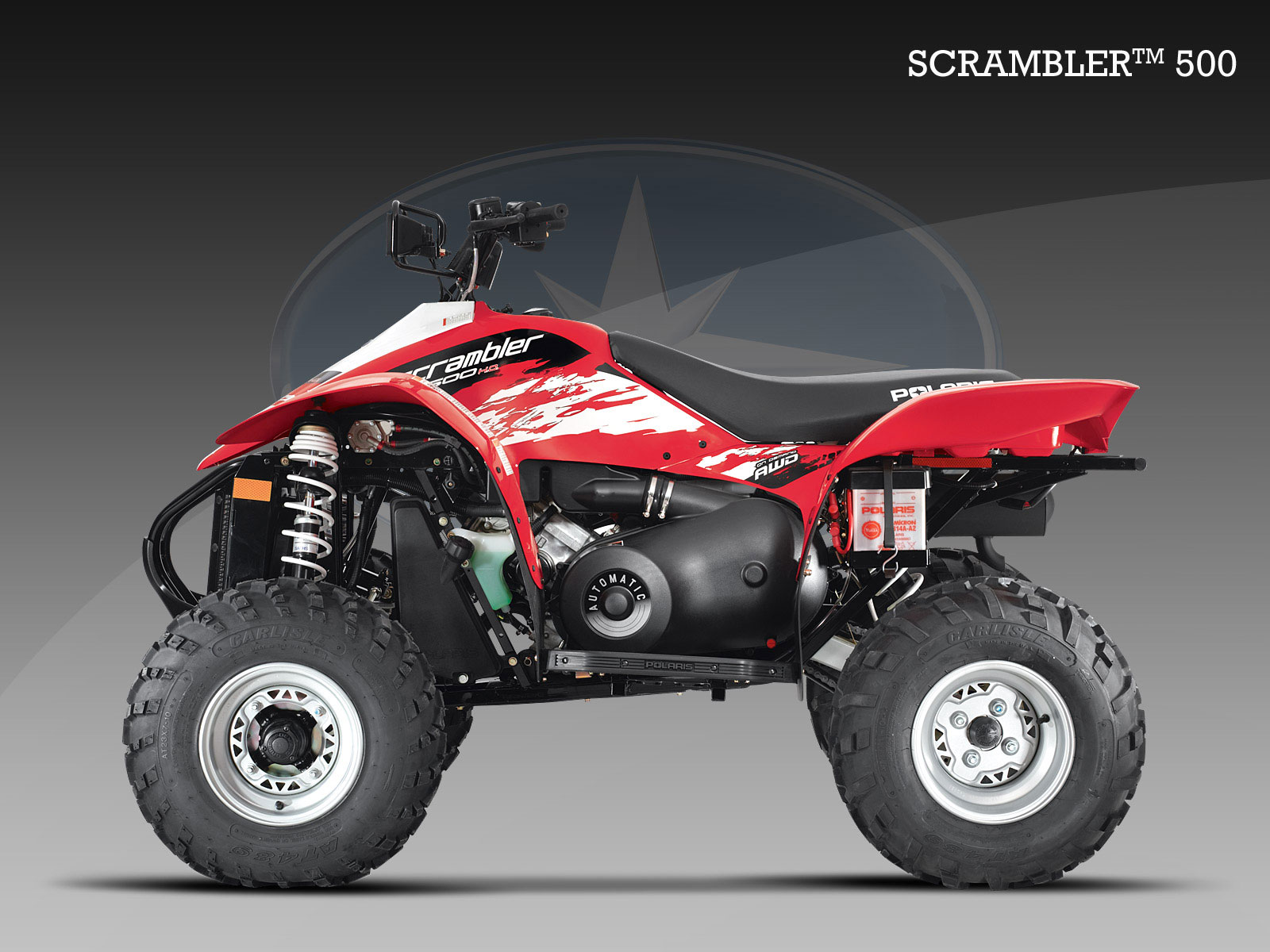 Polaris Scrambler 500 2008 images #121286