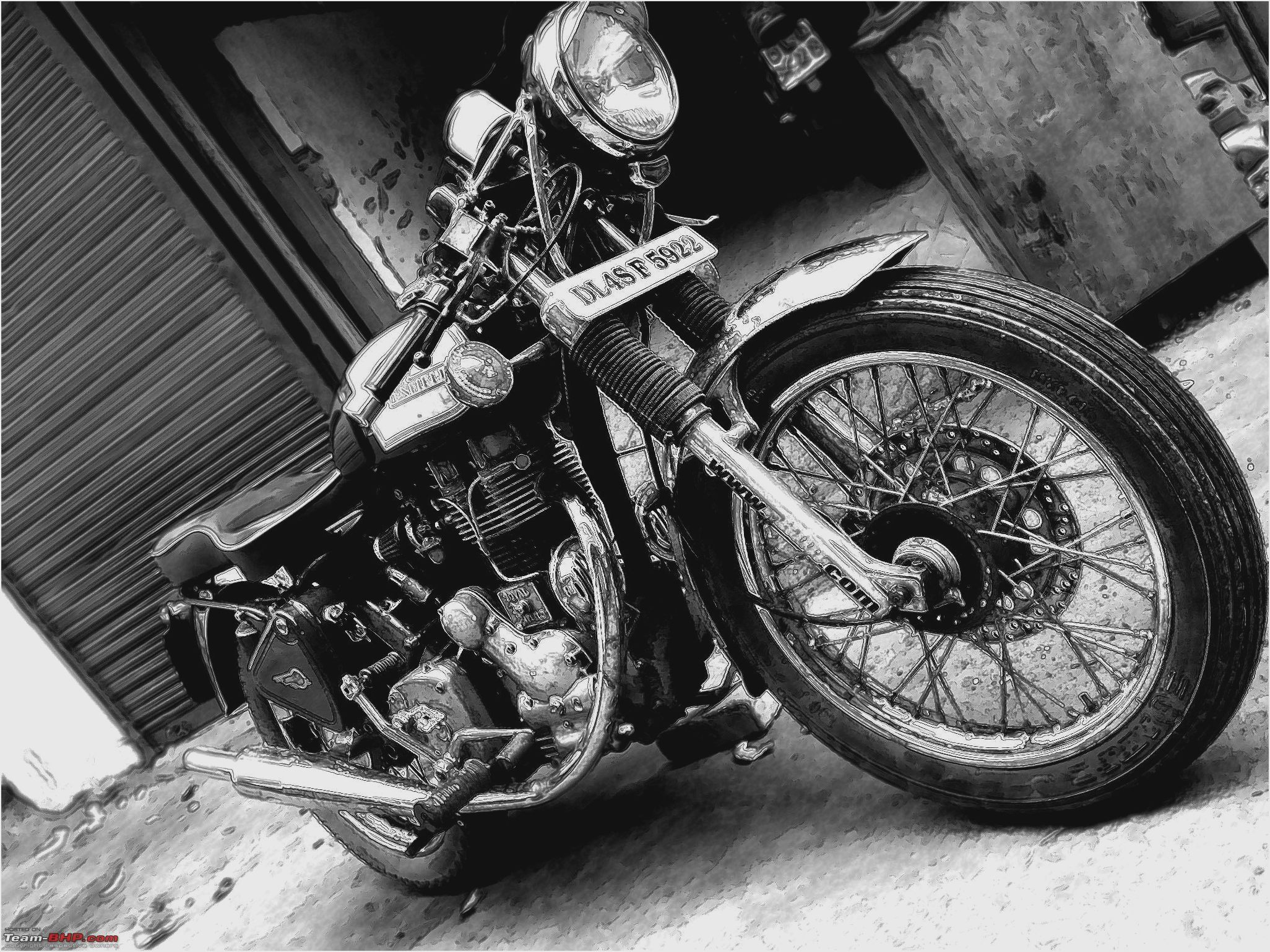 Royal Enfield Bullet 500 S Clubman 2007 images #127025