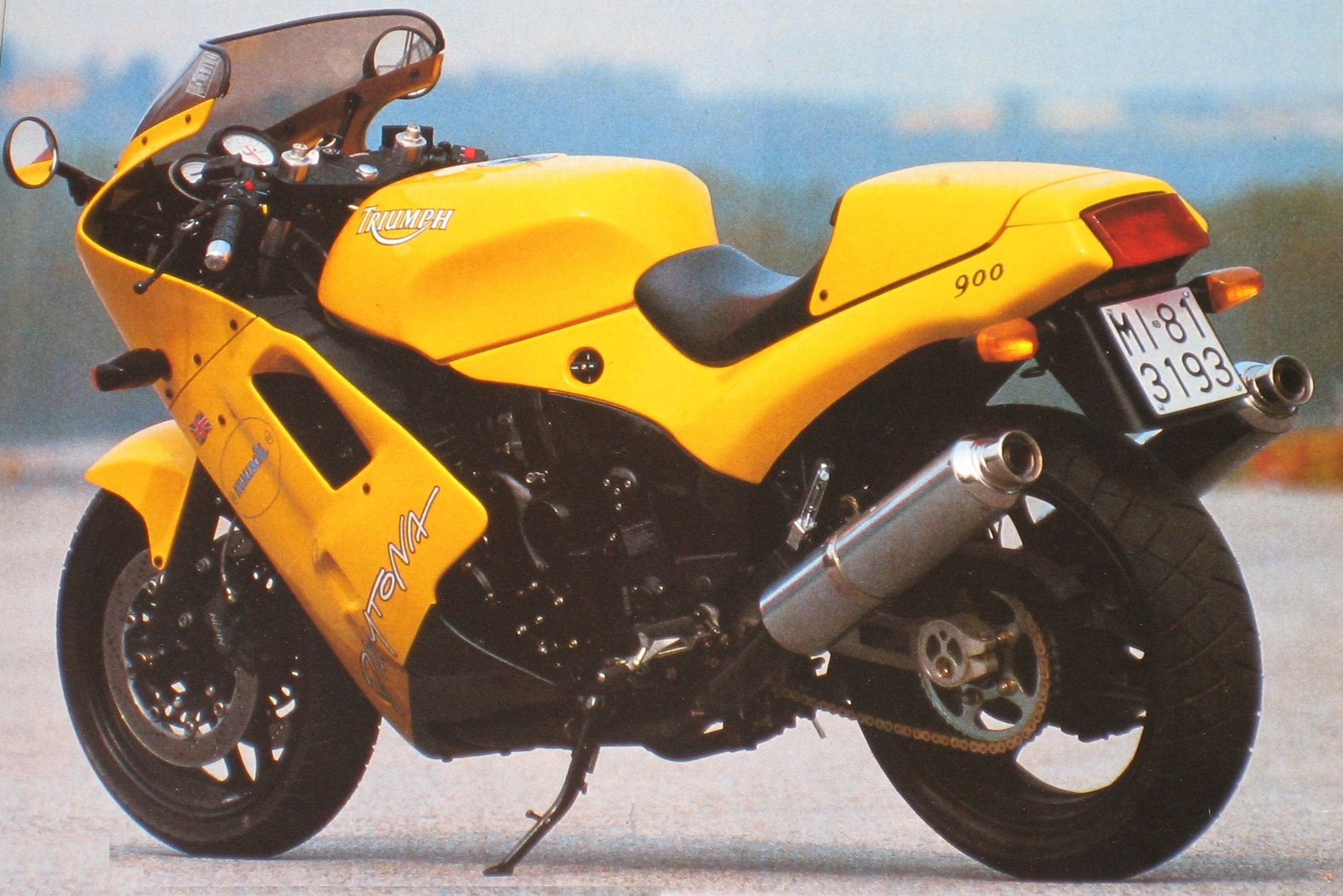 Triumph Daytona Super III 1994 wallpapers #130469