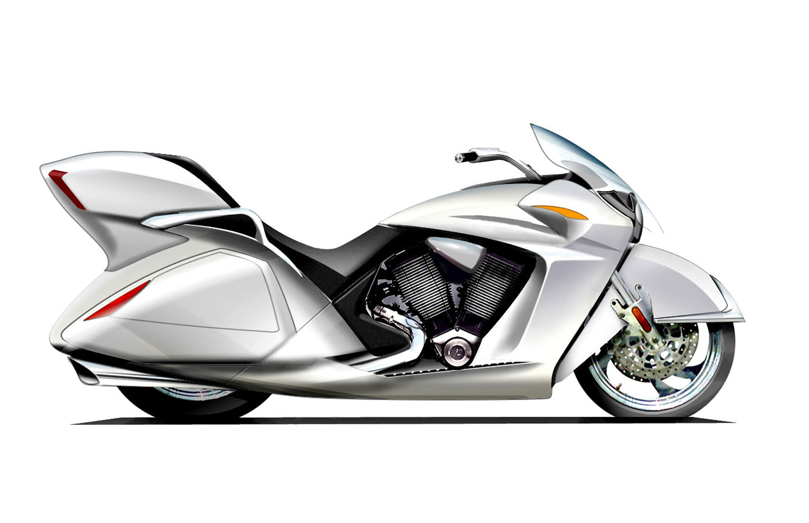 Victory Vision Trike: pics, specs and list of seriess by year ...