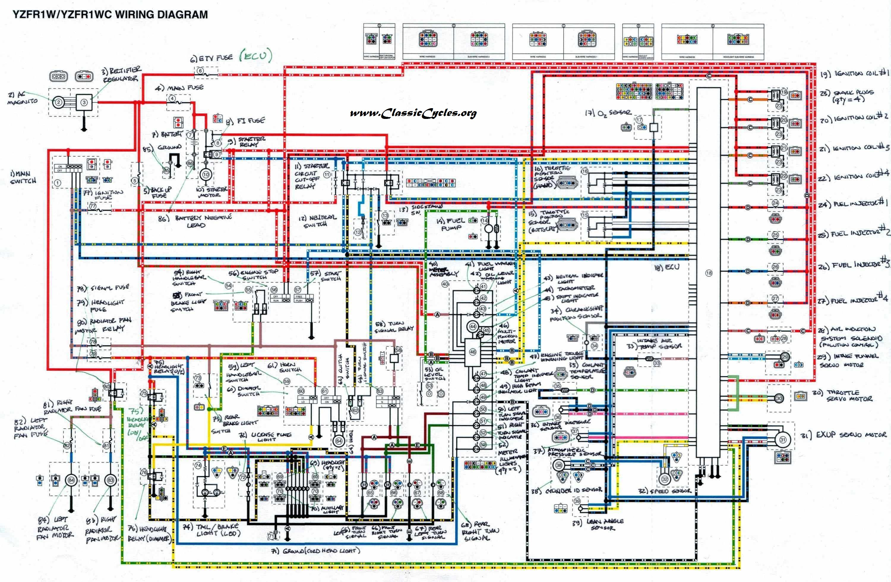 Yamaha Wiring Diagram Data Electrical Schematic Atv 89 Schema
