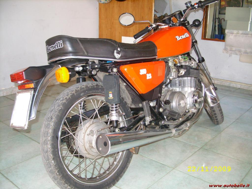 Benelli 350 RS 1979 images #75870