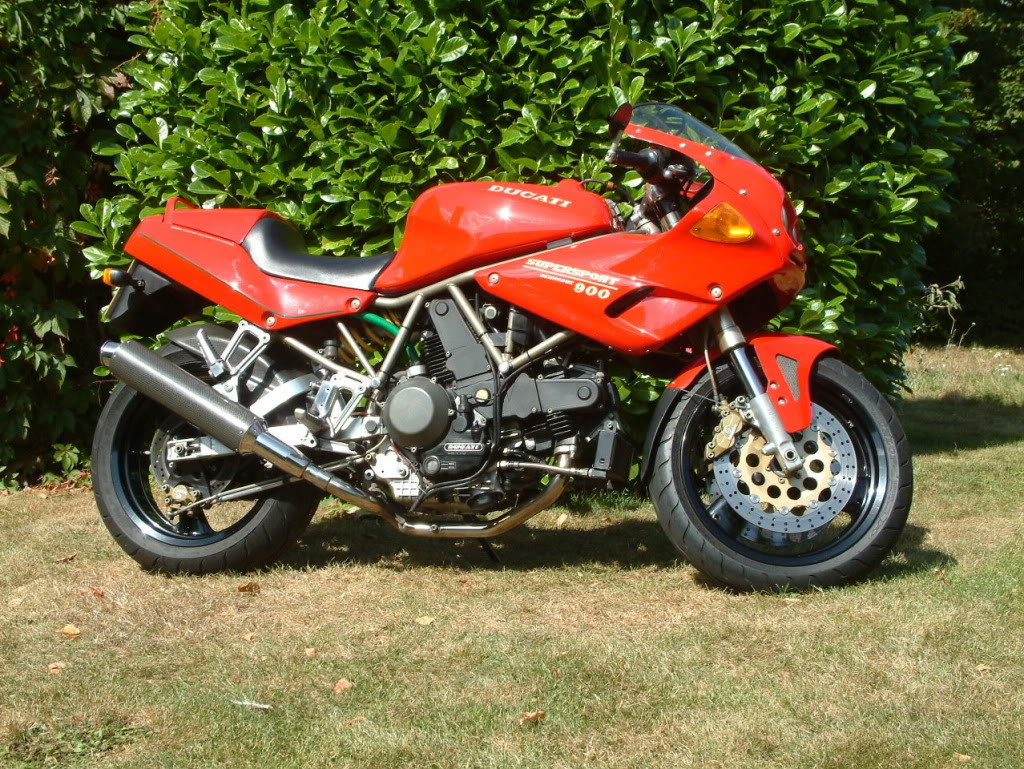 Ducati 900 SS 1994 images #78842