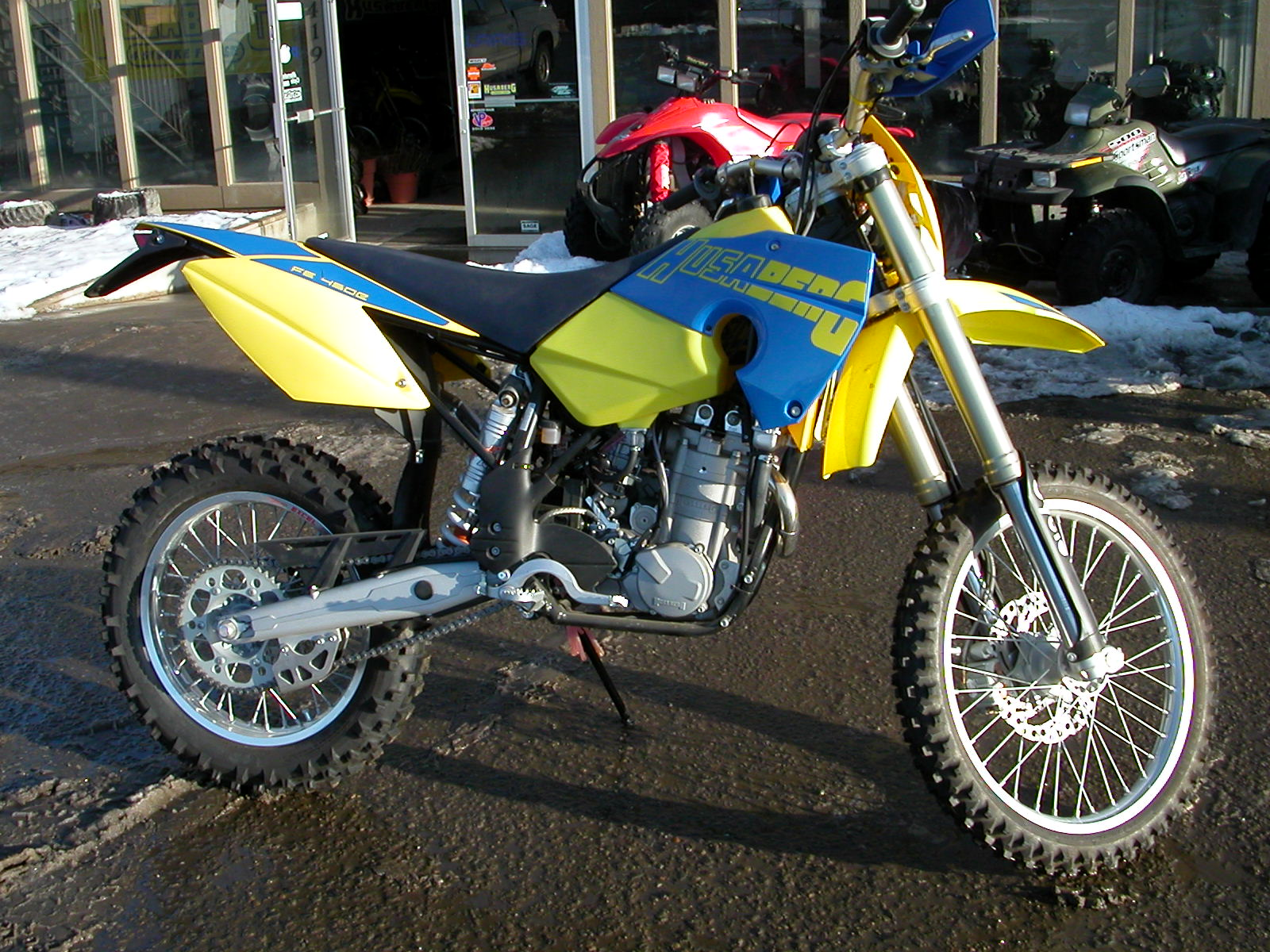 husaberg fe 450 e pics specs and list of seriess by year. Black Bedroom Furniture Sets. Home Design Ideas