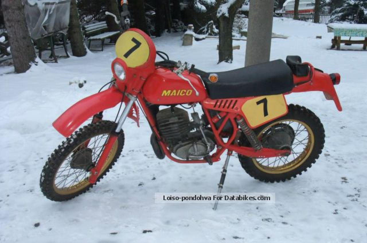 Maico MD 250/6 1975 images #101949