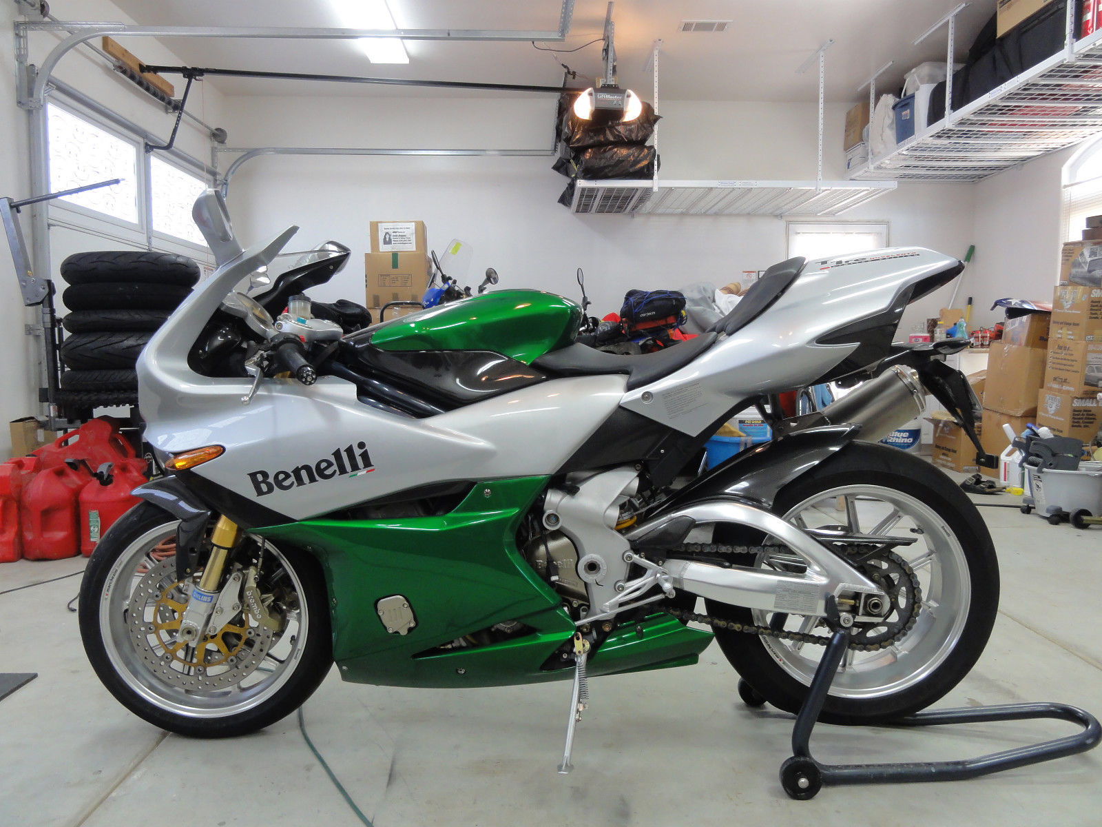 Benelli Tornado Limited Edition (Italian version) pics #43592