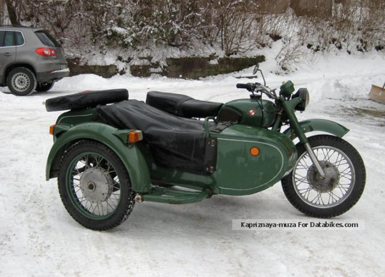 Dnepr MT 11 with sidecar 1987 images #95605