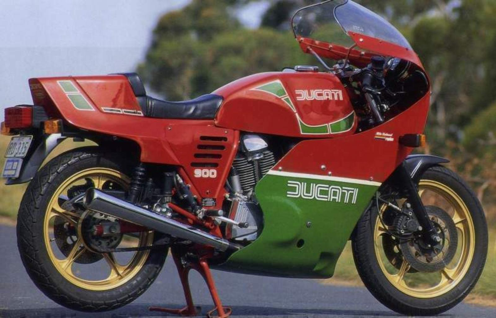 Ducati 900 SS Hailwood-Replica 1985 images #78743
