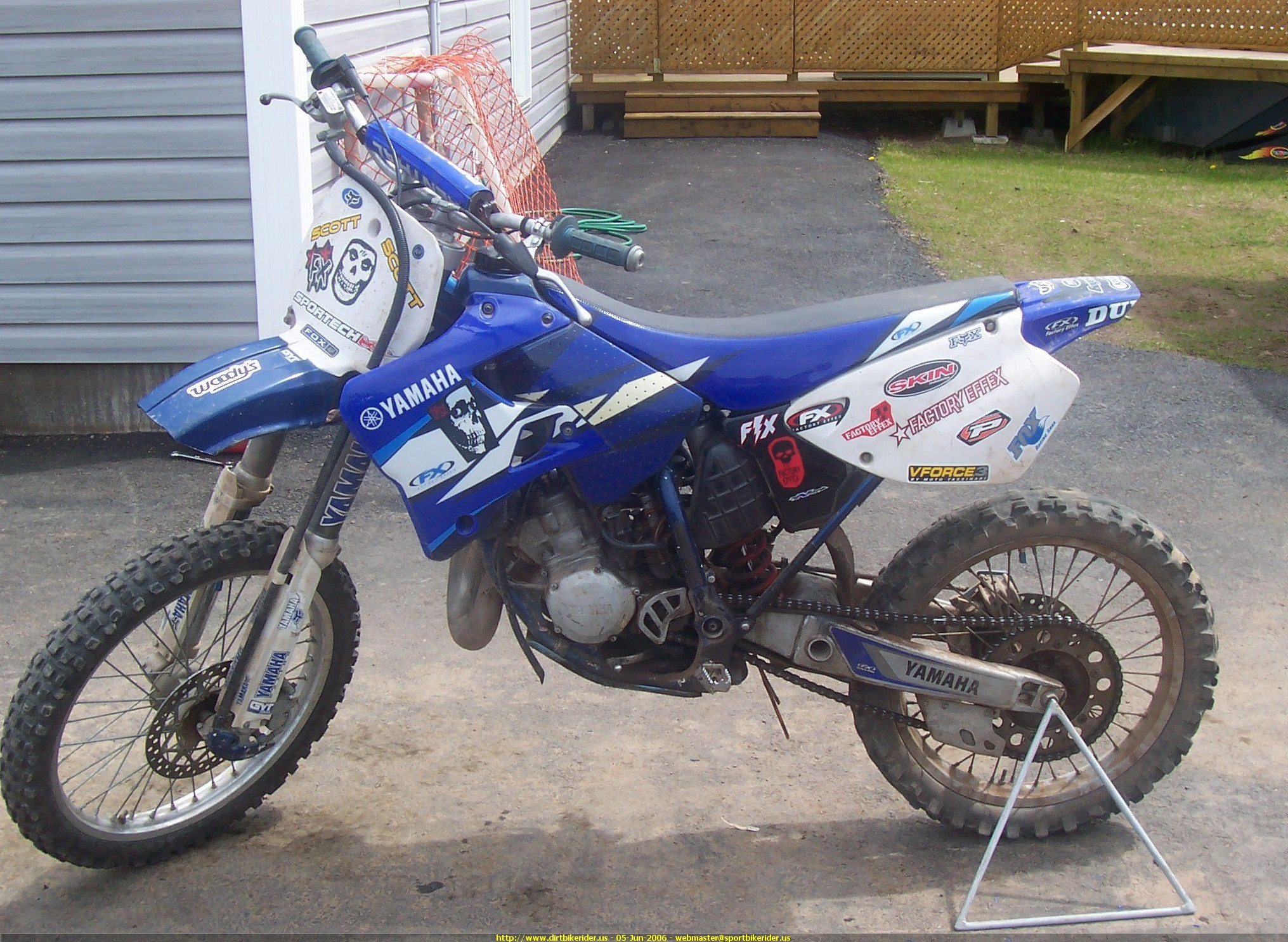 Pictures of Air Cooled Yz 125