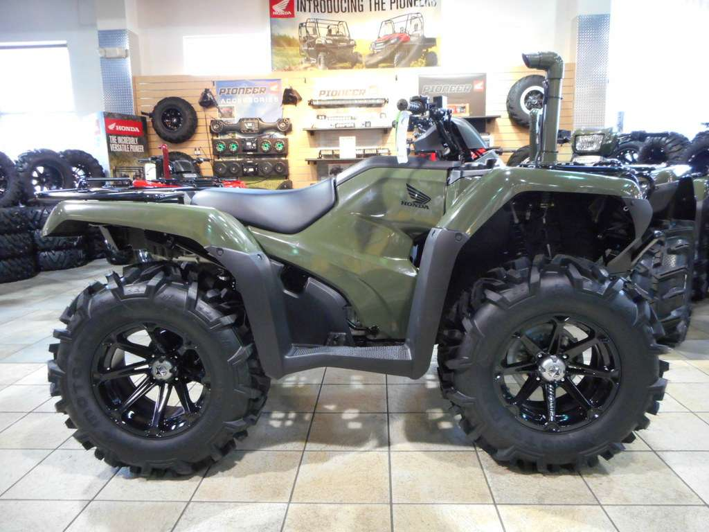 Honda Fourtrax Foreman 4x4 Rubicon Pics Specs And List