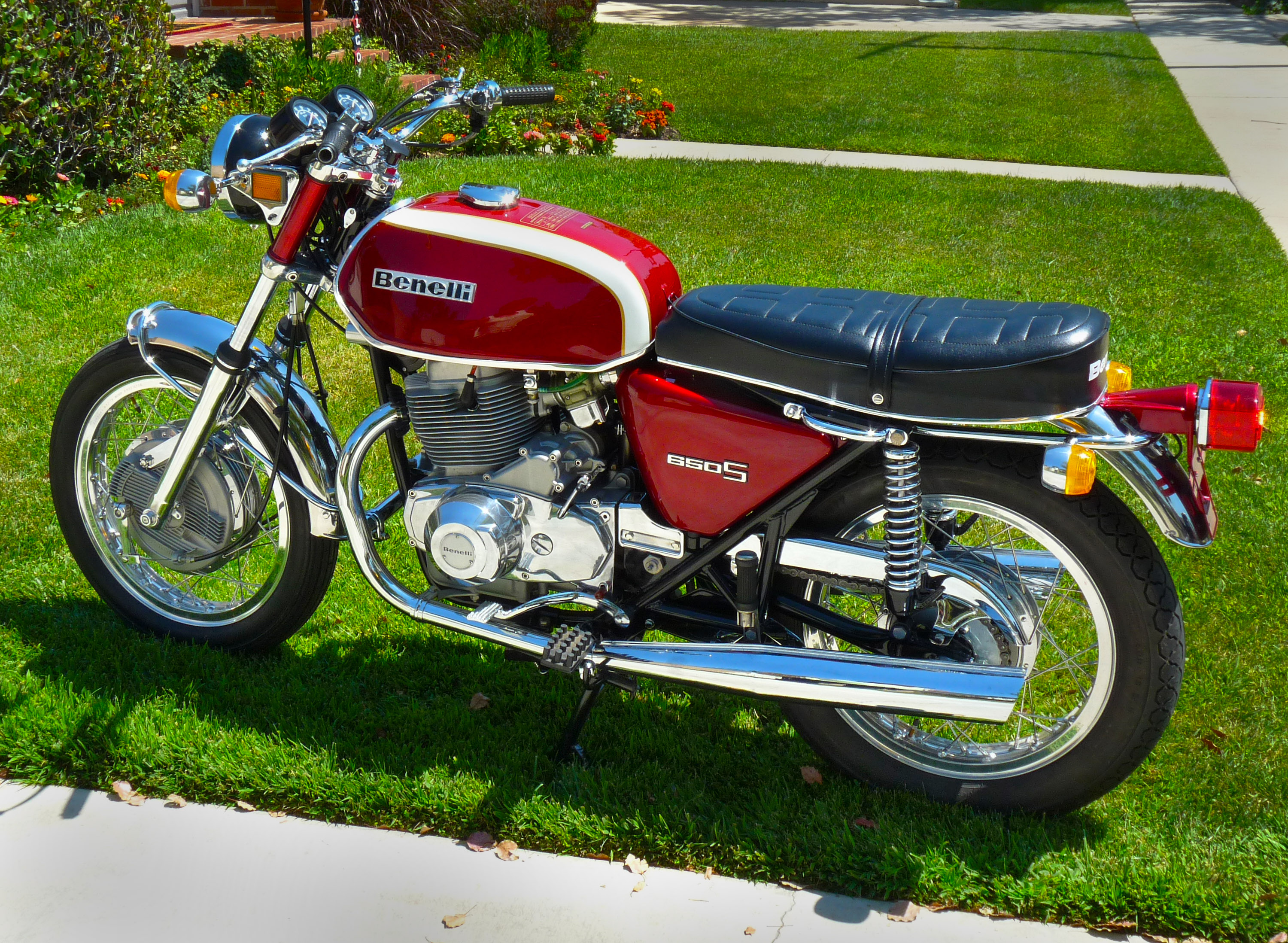Benelli 350 RS 1979 images #75873