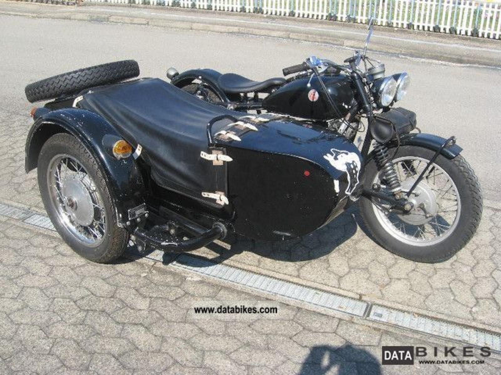 Dnepr MT 11 with sidecar 1987 images #95607