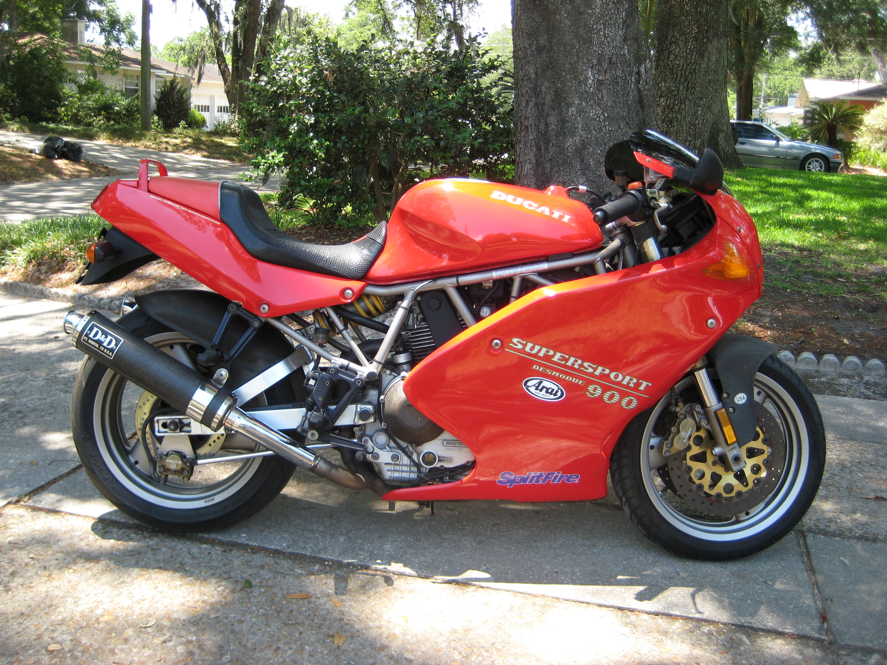 Ducati 900 SS 1994 images #78845