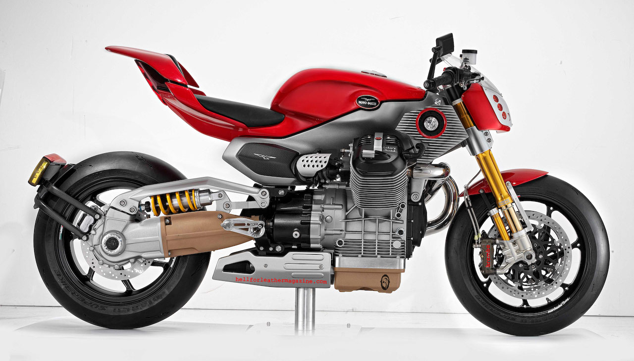 Moto Guzzi V12 Strada Concept 2010 wallpapers #139794